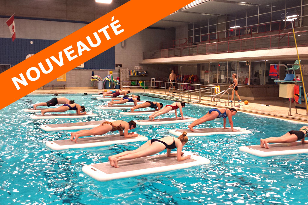 Aqua pilates activit s for Piscine claude robillard
