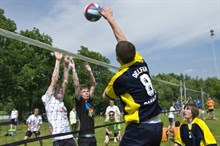 Camp option volleyball de plage